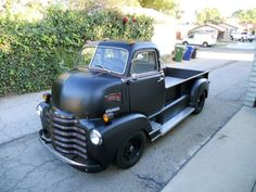 48 Chevy COE restomod with pickup bed.
