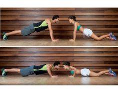 Treino para casal: 10 exercícios para emagrecer com seu amor Treino sob medida