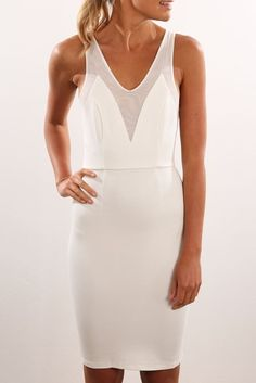 Napolean Dress White