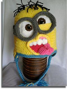FREE Ravelry Download - Crochet Minion Hat