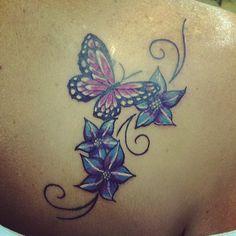 flower tattoos | flower, rose tattoos, shaded tattoos, colored tattoos, tattoo, tattoo ...