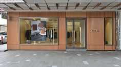 A.P.C. store on Paterson street in Hong Kong.