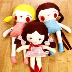 My sweet dolls....