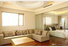 低調奢華_古典風設計個案—100裝潢網 Couch, Curtains, Furniture, Home Decor, Settee, Blinds, Decoration Home, Sofa, Room Decor