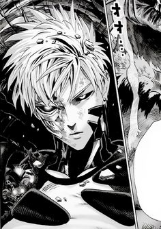 one punch man genos - Google Search