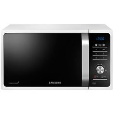 £99 Buy Samsung MS23F301TAW SOLO Microwave Oven, White Online at johnlewis.com