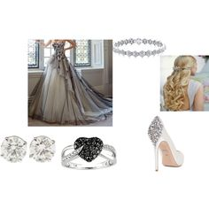 A fashion look from March 2015 featuring robes de demoiselle d'honneur, escarpins à plate-forme et diamond earrings. Browse and shop related looks.