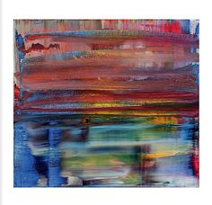 GERHARD RICHTER , Abstract Bild(817-1), 1994 oil on canvas , 51×55cm  CHRISTIES  9 May ,N.Y