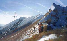 ArtStation - Mountain, Leonid Kolyagin