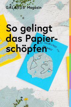 Papier selber herzustellen ist keine Hexerei. Mit diesen Tipps und genügend Zeit klappt es (fast) immer. Witchcraft, Daycare Ideas