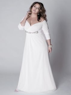 Long Sleeve Bridesmaid Dresses Plus Size
