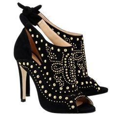 luiza barcelos sandalia salto alto luiza barcelos preto