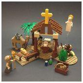 da fare assolutamente! -  - #assolutamente #fare Lego Christmas Village, Christmas Nativity Scene, Kids Christmas, Nativity Scenes, Christmas Christmas, Lego Winter, Lego Activities, Christmas Activities, Christmas Printables