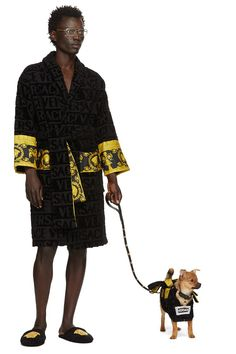 With luxury harnesses, argyle sweaters, and a Versace robe, chances are these dogs are more fashionable than you. Best Friend Necklaces, Fashion Capsule, Dog Wear, Dog Harness, Dog Design, Dog Lovers, Burberry, Product Launch, Argyle Sweaters