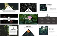 Wasabi PowerPoint Template by Zin Studio on @creativemarket