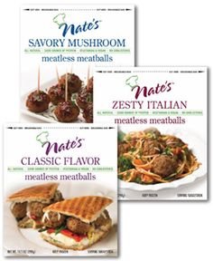 FREE Nate's Meatless Meatballs Product!