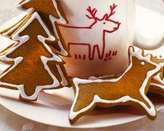 Weihnachtsrezepte für kalorienarme Weihnachtsplätzchen