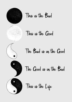 Yin Yang Poster featuring the digital art Life Balance by Carlos V Karma Quotes, Love Life Quotes, Jokes Quotes, Yin Yang Quotes, All Poster, Poster Prints, Small Fox Tattoo, Drawing Anime Bodies, Tattoos