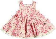 Este vestido de flores es ideal para el verano! Ver más vestidos: http://www.monsterskids.com/es/3-ropa-nina  #vestido #moda #ninas