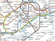 A Tube map of the London Underground that's far more useful than the 'official' one - UK - News - The Independent