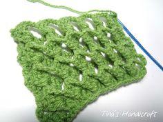 Tina's handicraft : 3D crochet stitch No 12