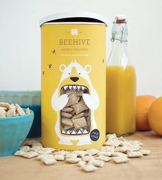 Cereal packaging design by Lacy Kuhn.