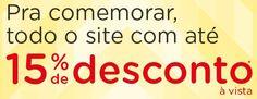 Economize agora 15% pagando suas compras maiores que R$179,90 à vista no boleto, somente pelo site do Magazine Luiza.