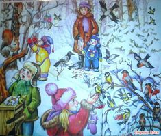Winter, Painting, Winter Time, Painting Art, Paintings, Painted Canvas, Drawings, Winter Fashion