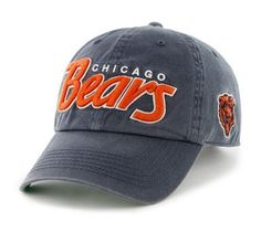 NFL Chicago Bears Men's 47 Brand Modesto Snapback Cap (Navy, One-Size) by '47 Brand. $22.00. Made from 100% Cotton Twill. Garment-washed for a broken-in look. 100% cotton twill. Relaxed snapback cap. Raised cotton embroidery. Kelly green under visor for a crisp look. 47 Brand provides the quality all true fans desire in their gear. Known for their vintage look and feel, '47 has managed to also provide a new school spin to this old school craze. Featuring tight, crisp stiching; ...