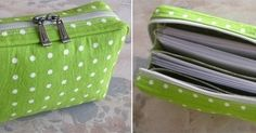 Multi-functional Bag / Bankbook Pouch ~ DIY Tutorial Ideas!