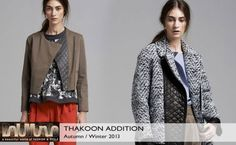 Thakoon Addition Fall 2013 #Collection #Fashion #BelleMonde #Style