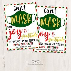 Christmas Presents For Teachers, Christmas Gift Baskets, Teacher Christmas Gifts, Homemade Christmas Gifts, Teacher Gifts, School Gifts, Student Gifts, Christmas Tags Printable, Teacher Treats