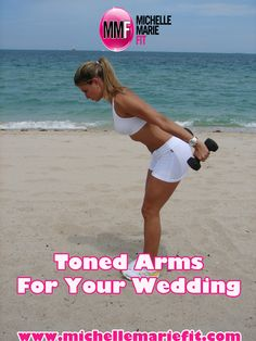 The Best Bride Exercise Routine to help you tone your arms for your wedding day.