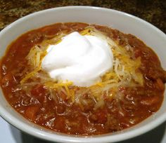 South Your Mouth: Really Easy Chili