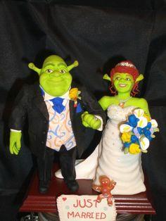 Shreck and Fiona
