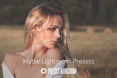 Matte Lightroom Presets @creativework247
