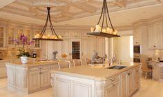 2 island kitchen