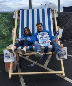 We're at #DayTripperWaterford! If you're here come down and say hello we've got some goodies and a deadly deckchair  #wlrfm #Waterford