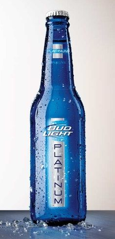 When I drink beer it's Bud Light Platinum! Beer Brands, Tumbler Designs, Beer Tasting, Bud Light, Best Beer, Beer Lovers, Beer Bottle, Glass Bottle, Alcoholic Drinks