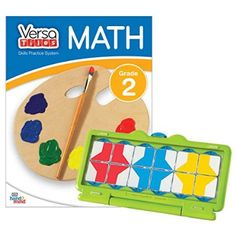 VersaTiles Math Practice System: The classroom-proven math practice system is now available to use at home!   Start with an answer case and workbook, and then add to your system with additional topic workbooks.   All VersaTiles books are compatible with the newly-redesigned case! Available for Grades 1-6.