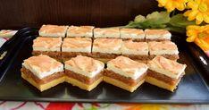zdroj:retetefeldefel.ro Suroviny Cesto: 6 žĺtkov 250 g masla 150 g práškového cukru 300 g gréckeho jogurtu 350 g hladkej múky 10 g prášku do pečiva [...] Cookie Designs, Sweet Cakes, No Bake Cookies, Spanakopita, Ham, Sushi, Biscuits, Sandwiches, Deserts