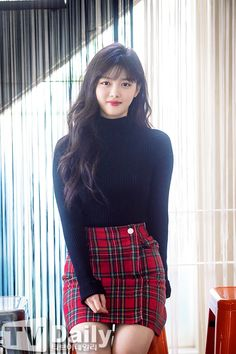 Kim Yoo Jung (Interviews 10/2016) - Album on Imgur Kim So Hyun Fashion, Korean Fashion, Kim Yoo Jung Fashion, Kim Yoo Jung Photoshoot, Korean Beauty, Asian Beauty, Kim Joo Jung, Asian Woman, Asian Girl