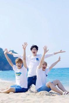 JinJin, EunWoo & Rocky ♥