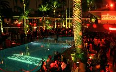 A private event at the Tropicana Bar at the Hollywood Roosevelt in Los Angeles
