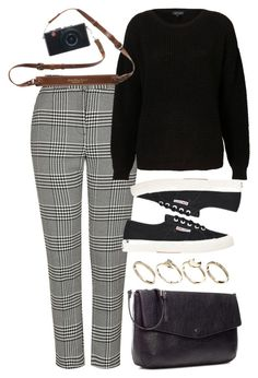 """""""Untitled #6120"""" by rachellouisewilliamson on Polyvore featuring Topshop, Superga, Zara and ASOS"""