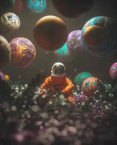 Space Phone Wallpaper, Galaxy Wallpaper, Astronaut Illustration, Illustration Art, Astronaut Wallpaper, Space Artwork, Wallpaper Animes, Astronauts In Space, Space And Astronomy