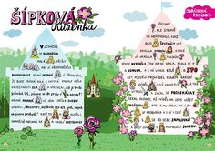 SYLVA FRANCOVÁ: Kreslené pohádky Childhood Stories, Classroom Activities, Fairy Tales, Dream Wedding, Language, Teaching, Education, Logos, Children