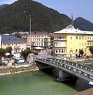 The charming town of Bad Ischl, Austria.