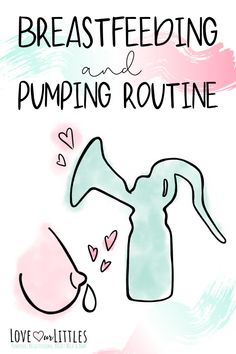 Every scenario for a breastfeeding and pumping routine. Your ultimate guide to beginning a pumping routine while breastfeeding. Pumping And Breastfeeding Schedule, Pumping Schedule, Breastfeeding Positions, Breastfeeding Foods, Breastfeeding Problems, Routine, Lamaze Classes, Baby Kicking, Fantastic Baby