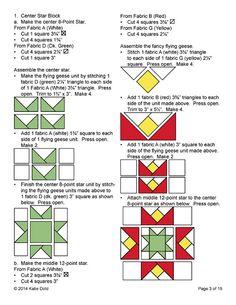 Star Quilts, Quilt Blocks, Star Blocks, Scrap Quilt Patterns, Pattern Blocks, Medallion Quilt, Quilt Border, Quilt Kits, Quilting Tutorials
